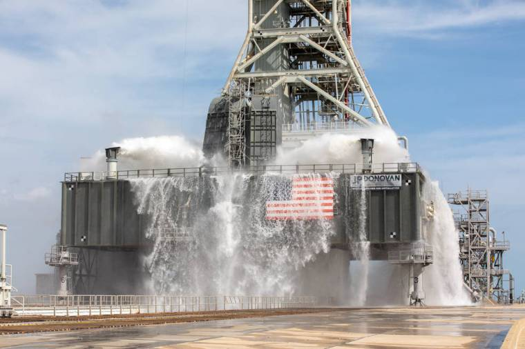 Nominal Wet Flow Test at Pad 39B