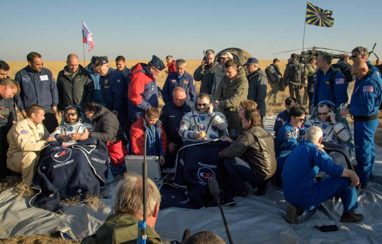 Expedition 60 Soyuz MS-12 Landing