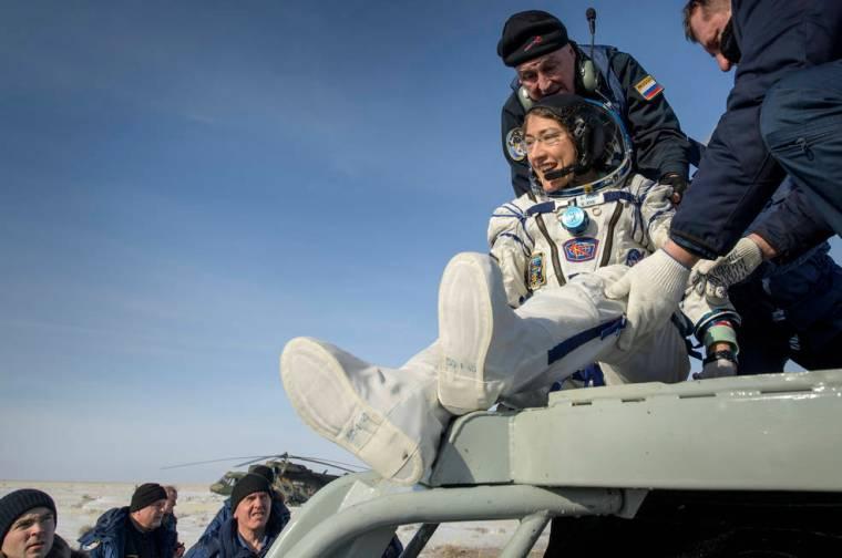 Expedition 61 Soyuz Landing