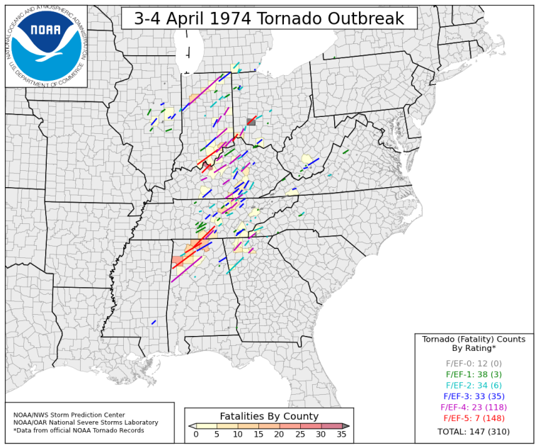 1974_Super_Outbreak_tornado_fatality_map