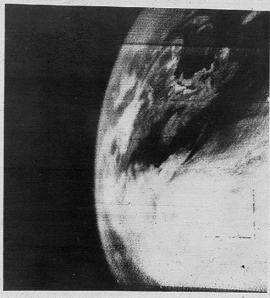 TIROS-1-Earth